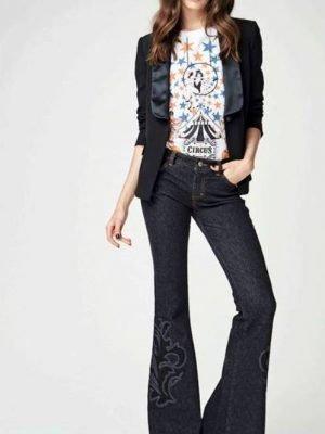 Jeans pantalone donna art 821DD20005 Denny Rose Autunno 2018//19