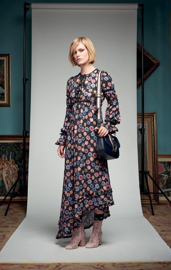 583523155fd5 Dress Abito donna Denny Rose art 721DD10012 Autunno Inverno 2017 2018