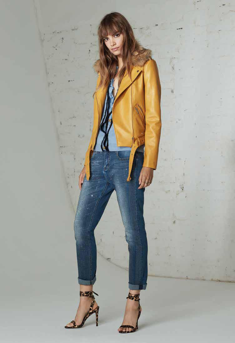 jeans giacca donna autunno 2019