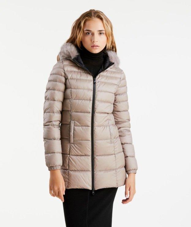 RefrigiWear Long Mead Fur Cappotto Donna